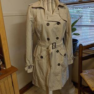Light Tan Trench Coat